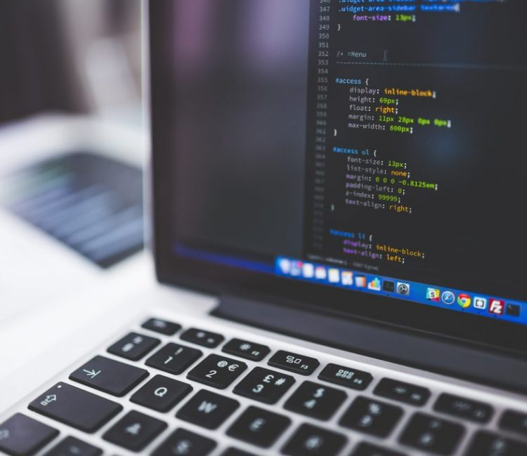 code used for web design